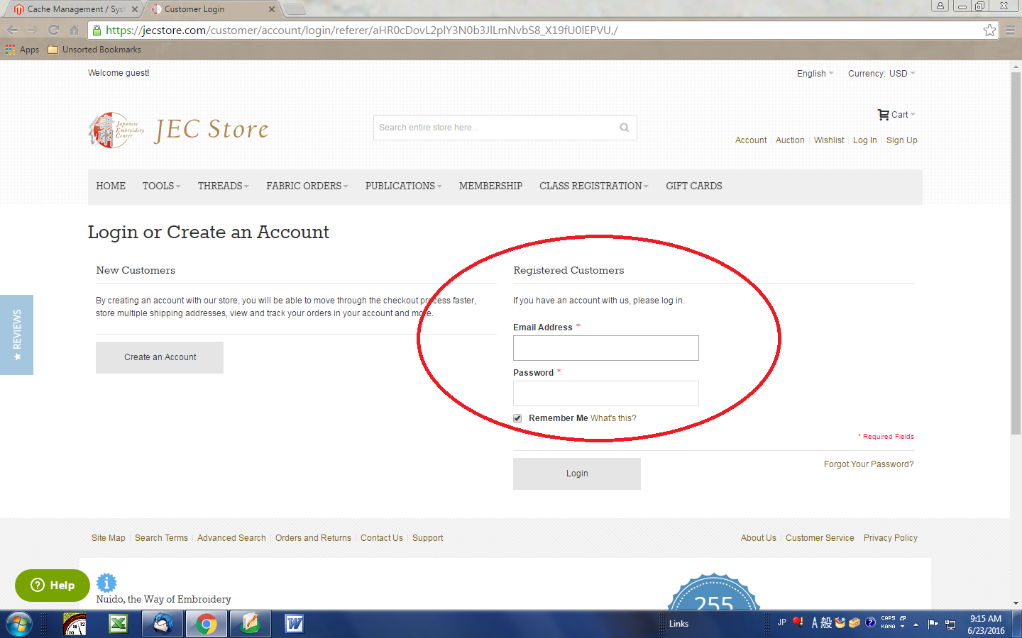 En us/customer/account/create - Enter Your E Mail Address And Password